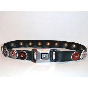 GM buckle soda cap vintage belt